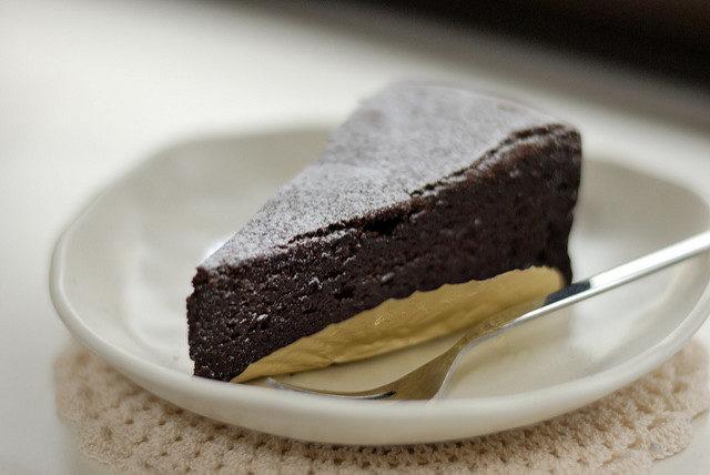 Dekadenter Veganer Schokoladenkuchen